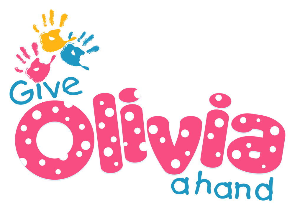 Charity logo design to Give Olivia a helping hand, Love