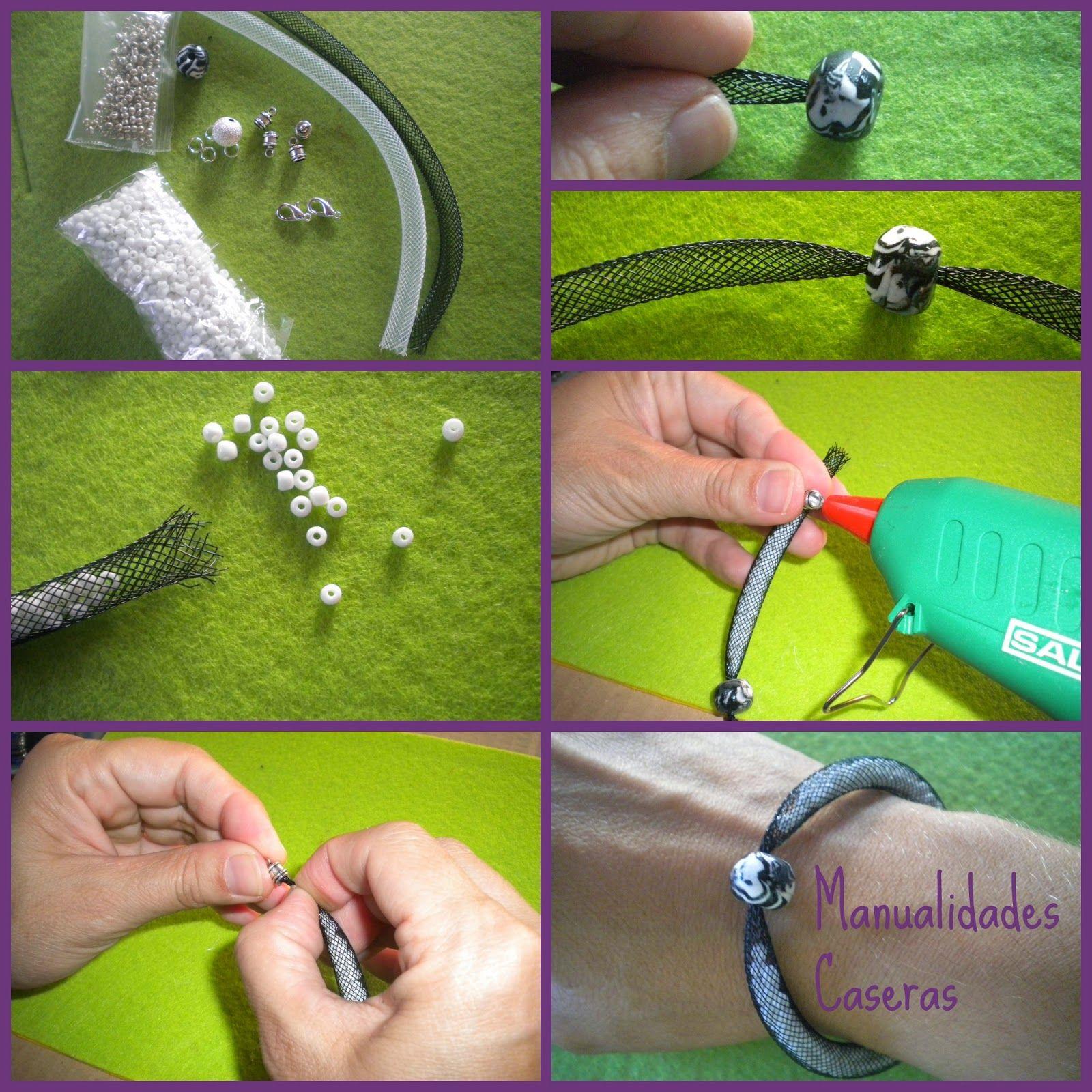 Manualidades caseras faciles como hacer una pulsera de - Como hacer manualidades faciles ...