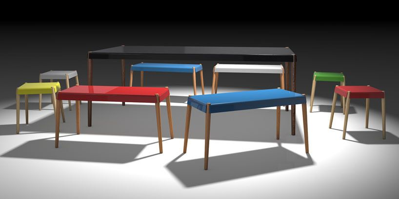 peg flat pack furniture collection by bright potato