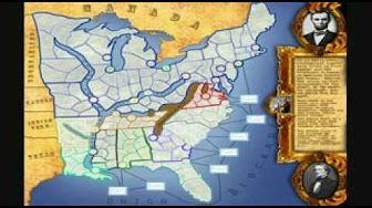 guerra civil norteamericana el norte con el sur - YouTube