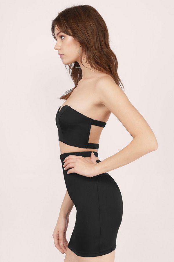 Aviana Two Piece Bodycon Dress