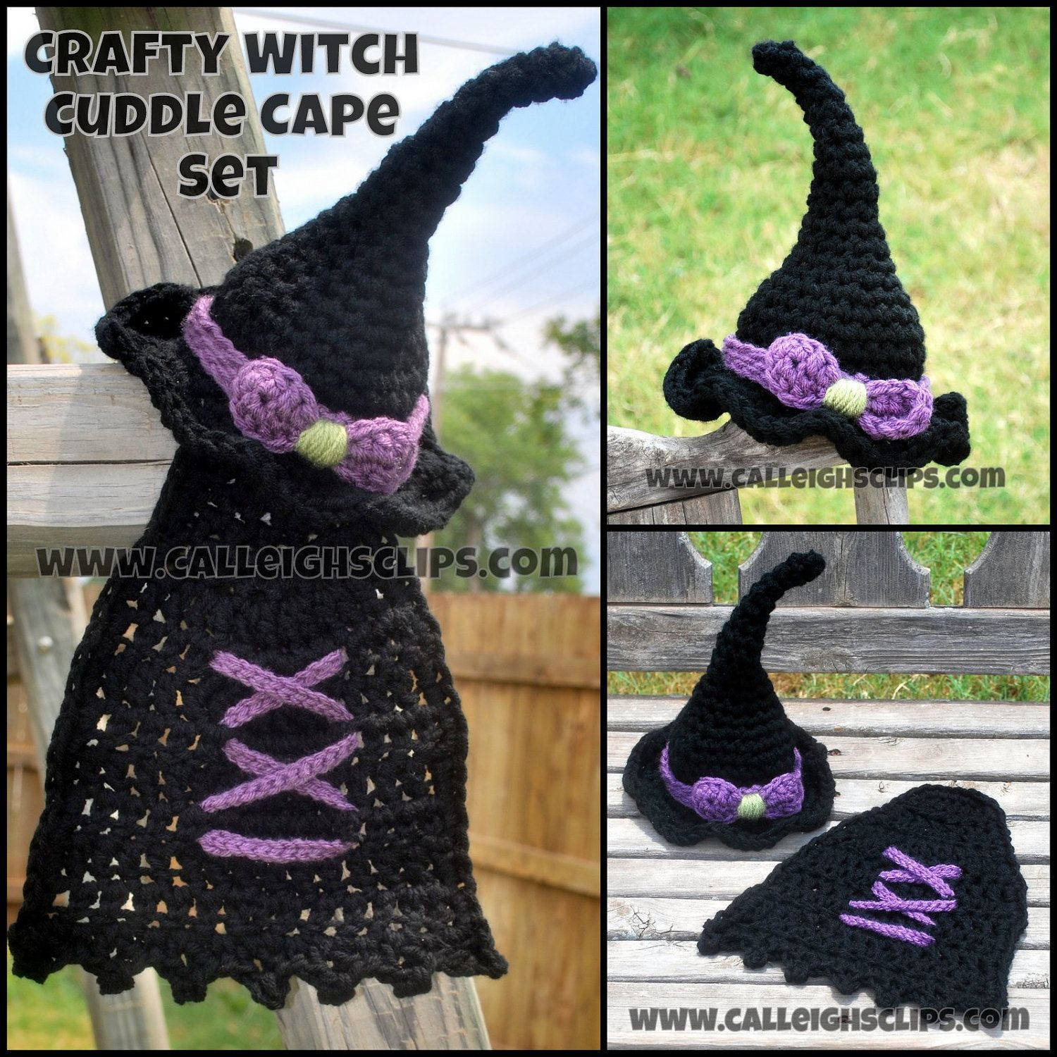 Crochet pattern no 65 crafty witch hat and cape pdf digital crochet pattern no 65 crafty witch hat and cape pdf digital files bankloansurffo Image collections