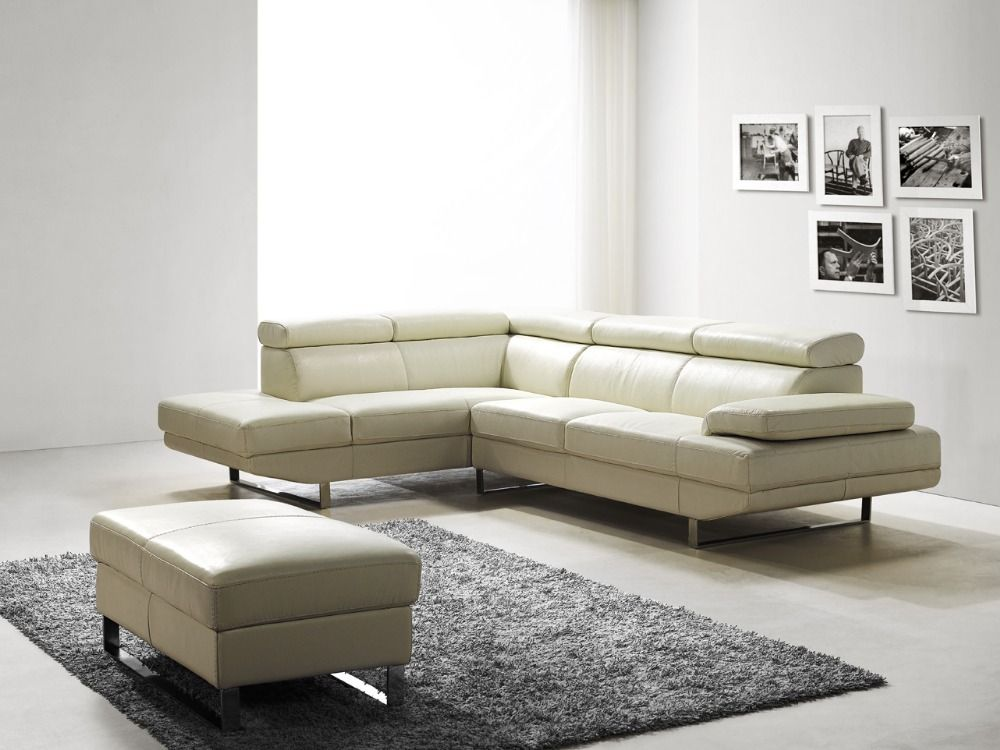 sofa latest modern design leather sectional sofa l shaped corner sofa