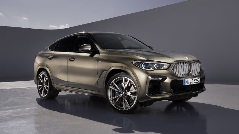 2020 Bmw X6 Revealed More Distinct From X5 Sibling Bmw X6 New