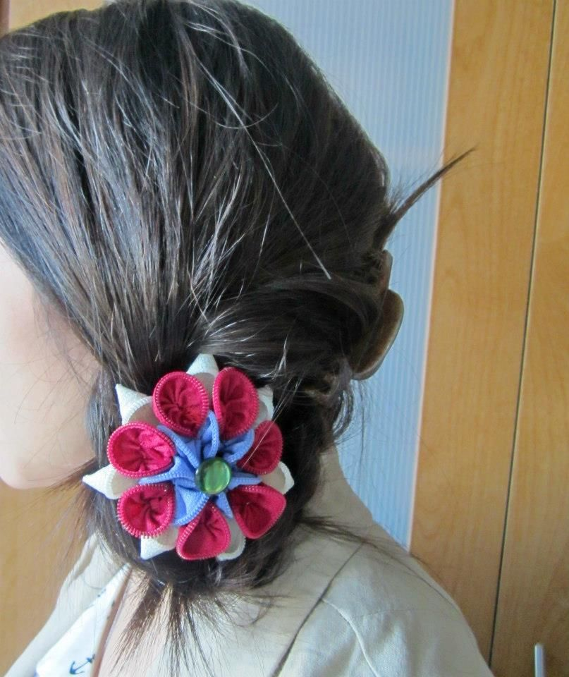 Wear your One of Z Kind Creation as a hair piece! Zippers! https://www.facebook.com/OneofZKindCreations