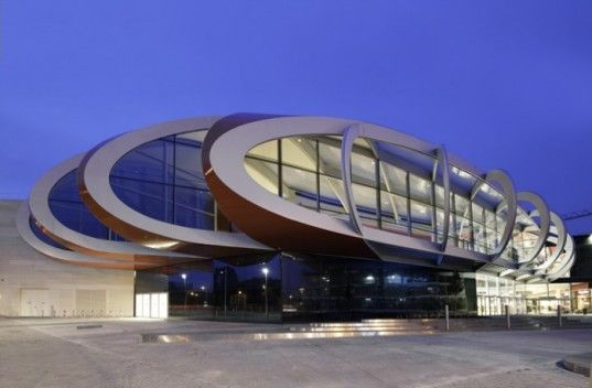 Mediacité shopping centre in Liege by Ron Arad