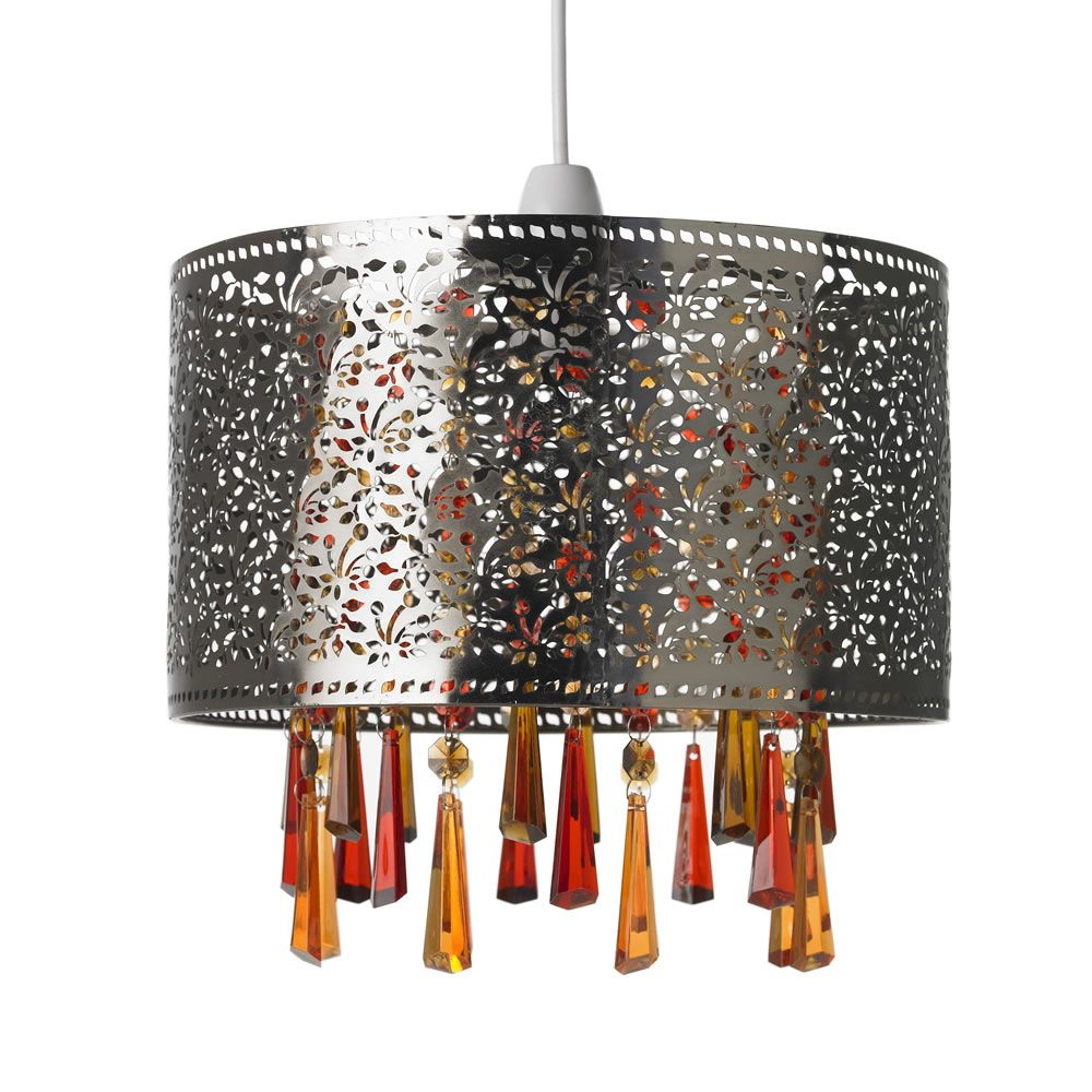 Charming Ideas Better Homes And Gardens Lamp Shades. Lights Wilko Brass Beaded Pendant Mocha  Ideas for my castle