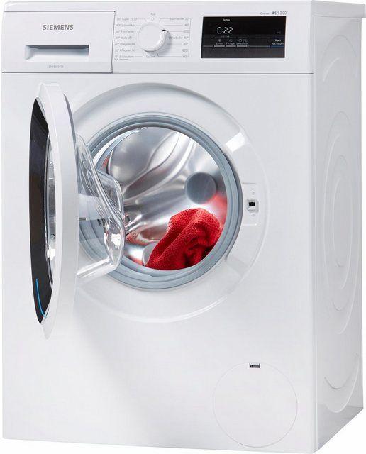 Waschmaschine iQ300 WM14N0ECO, 6 kg, 1400 U/Min