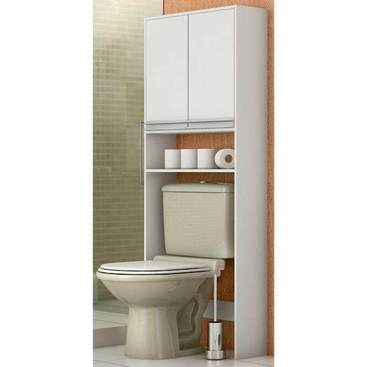 Coluna Carpi Caixa Acoplada Branco Moveis Para Banheiro Armario