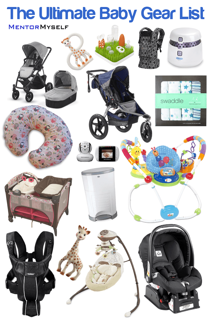 The Complete list of baby stuff is finally here! Such a ...
