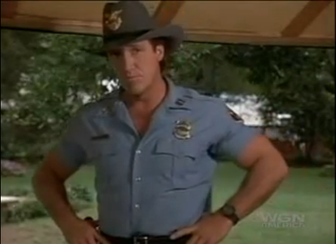 Alan Autry As Bubba Skinner In The Heat Of The Night Bubba