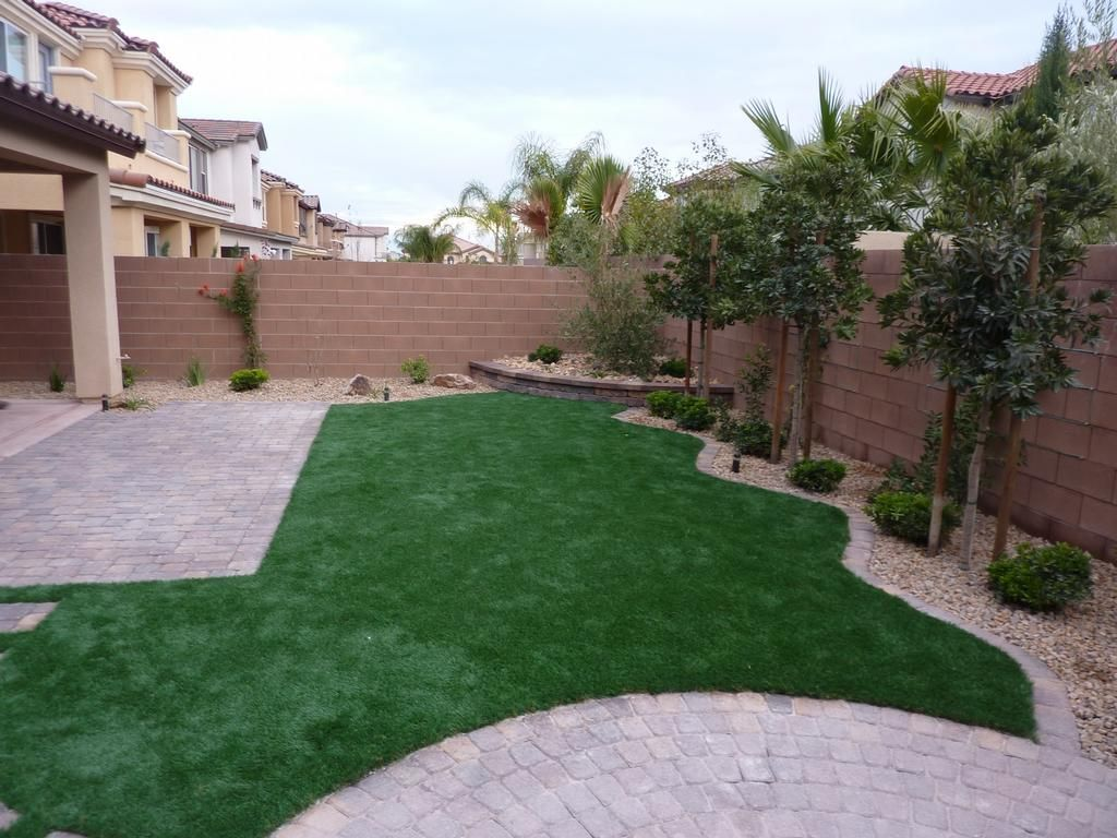 Charming Las Vegas Backyard Landscaping   It Is Easy To Come Up With Your Own  Landscaping Idea. Nice Look