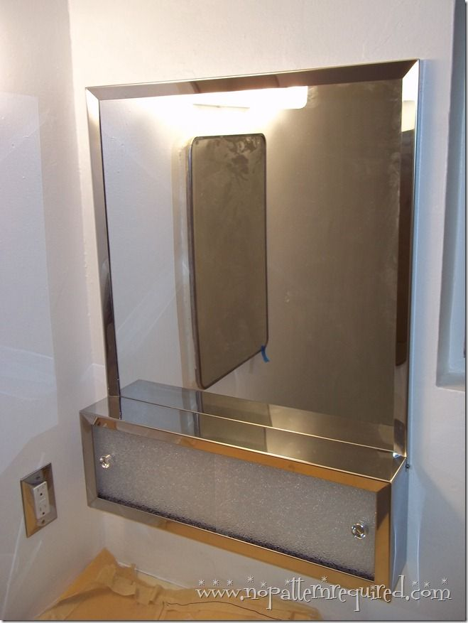 Installing a NuTone Commodore Medicine Cabinet