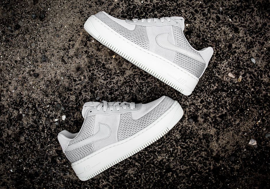 Nike Air Force 1 Uptstep Metallic Mesh | Nike air force
