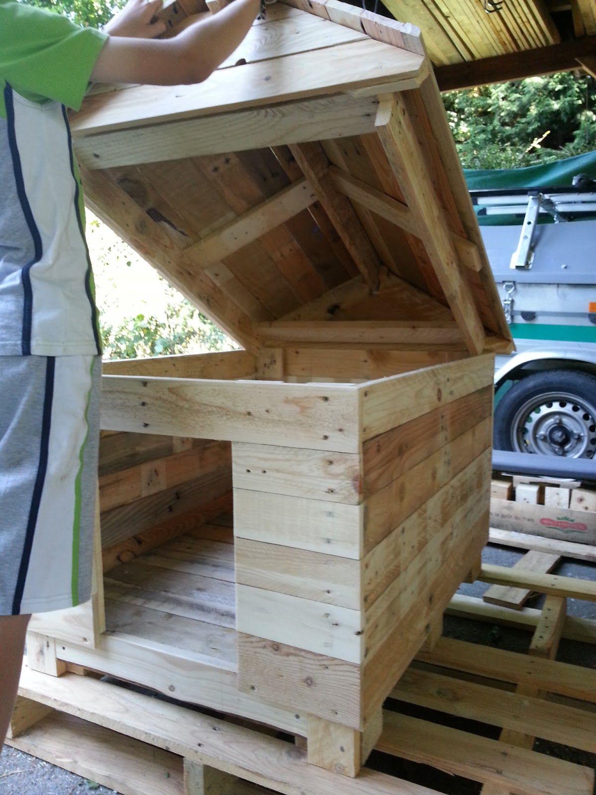 R cup ration bricolage bois bac fleurs banc cache - Construction banc en palette ...