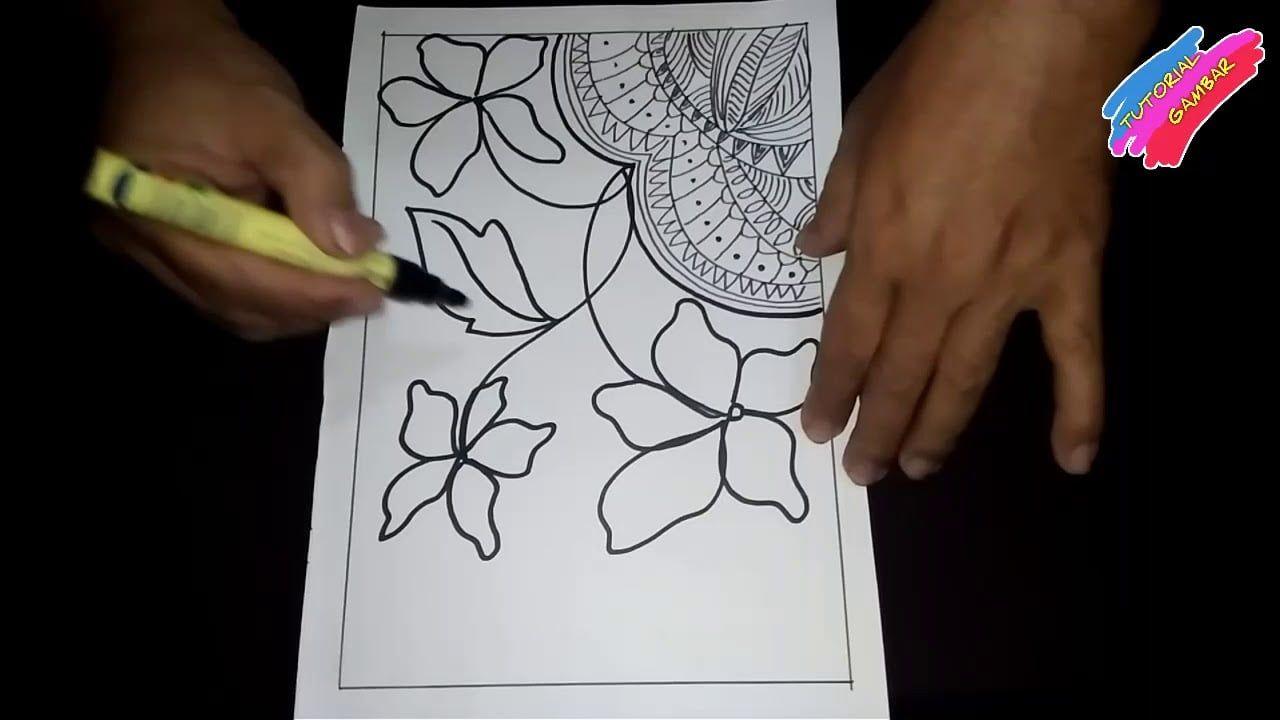 Pola Batik Motif Bunga Di 2020