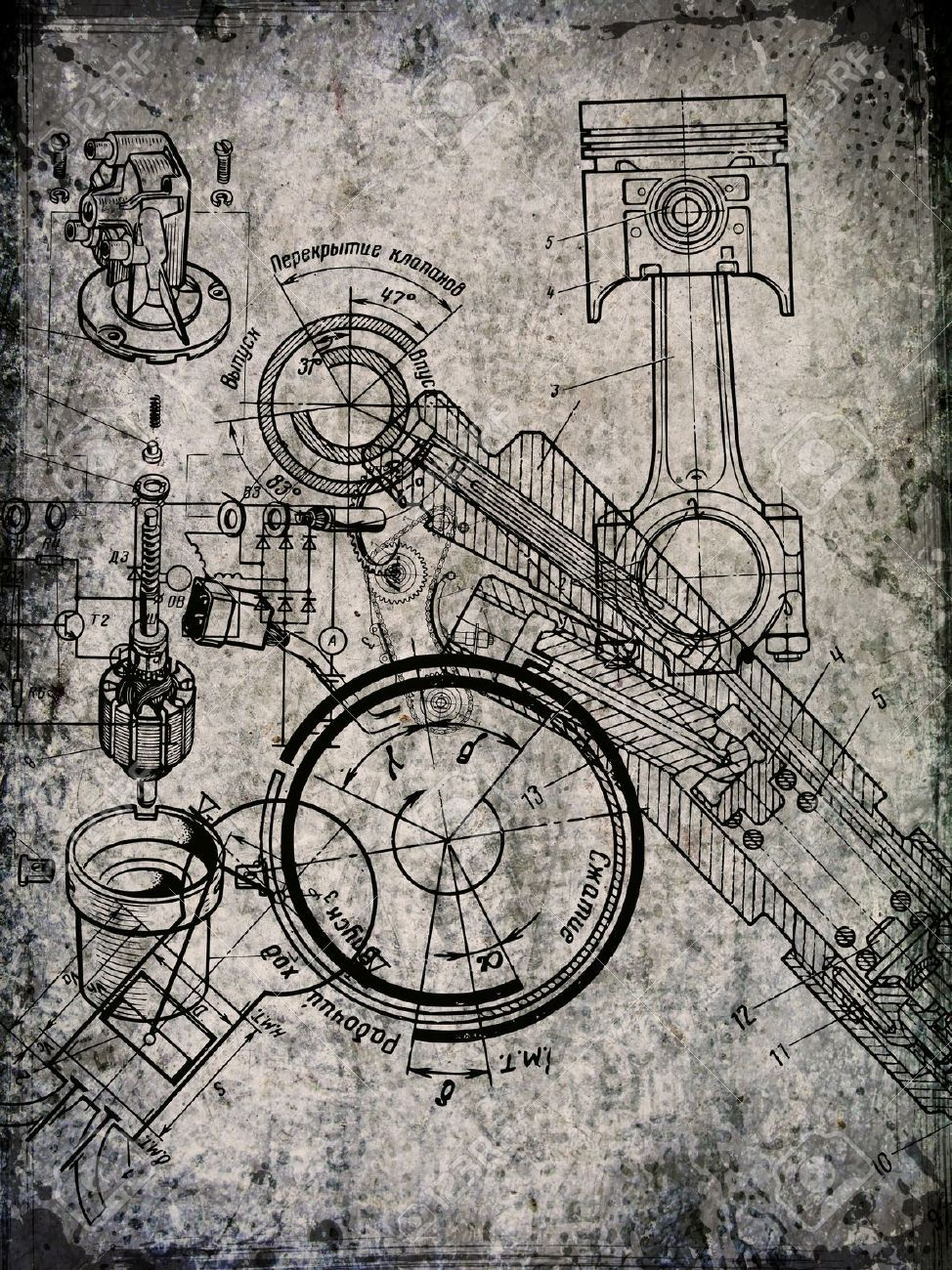 Old blueprint stock photos pictures royalty free old blueprint old blueprint stock photos pictures royalty free old blueprint malvernweather Images