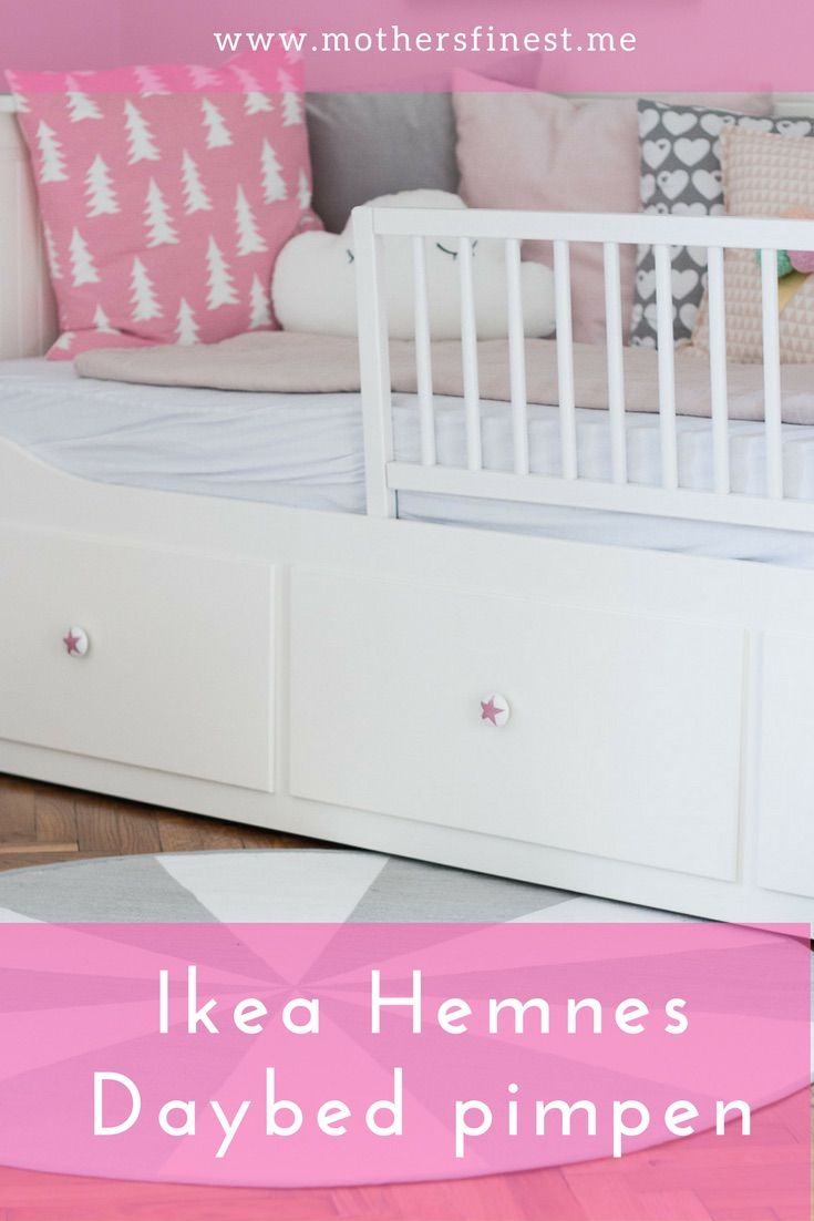 ikea hemnes daybed pimpen ikea hack gruppenboard familienblogs sterreich pinterest. Black Bedroom Furniture Sets. Home Design Ideas