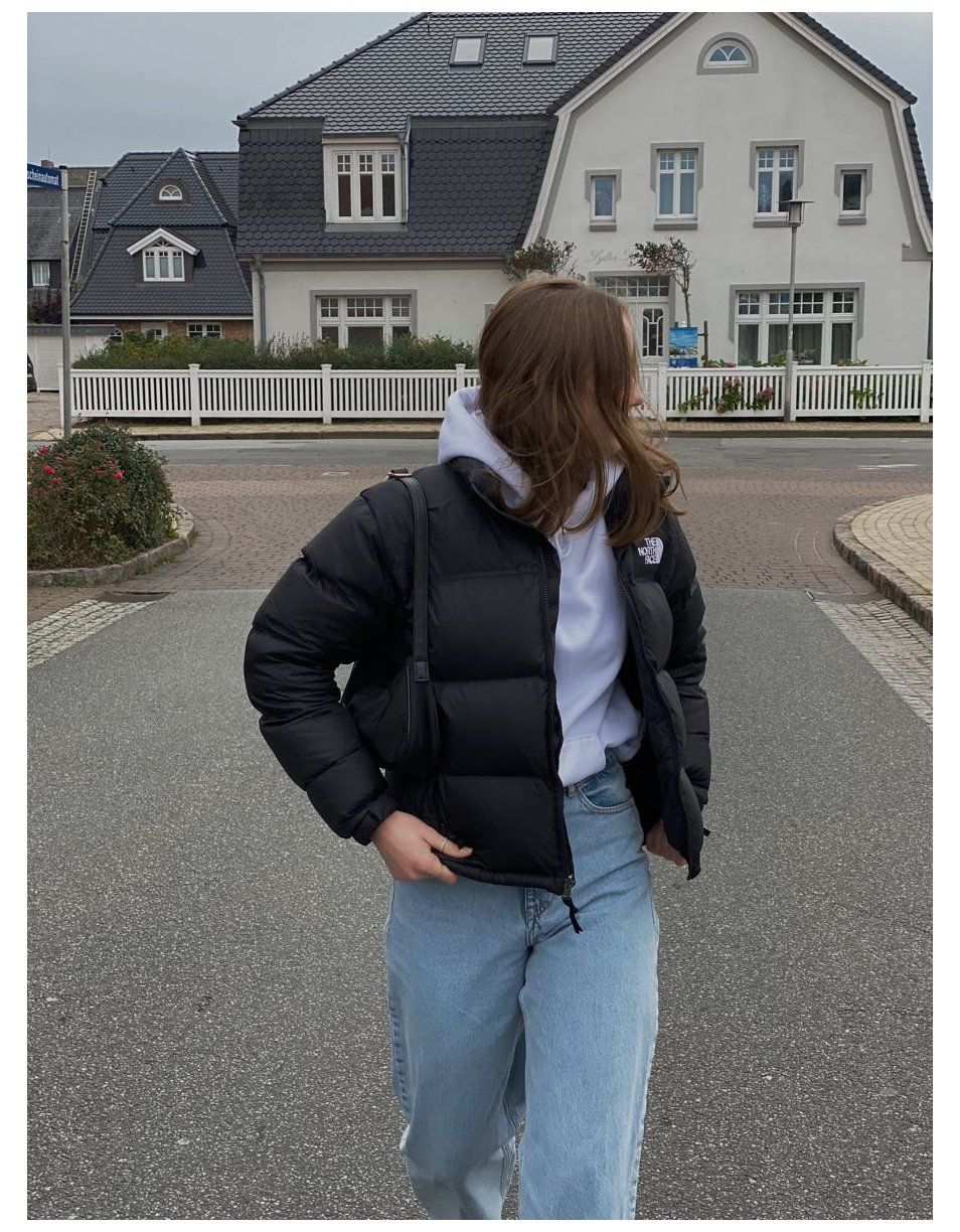 north face jacket outfit winter
