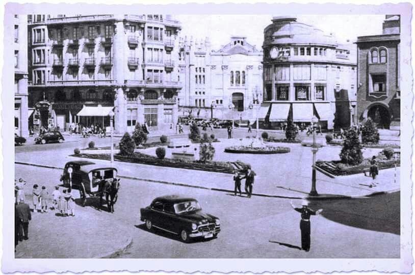 León, fotos antiguas, plaza de santo Domingo