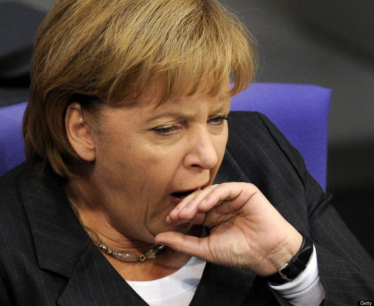 Angela Merkel Topless angela merkel yawning   celebrity pictures, celebrities, 10
