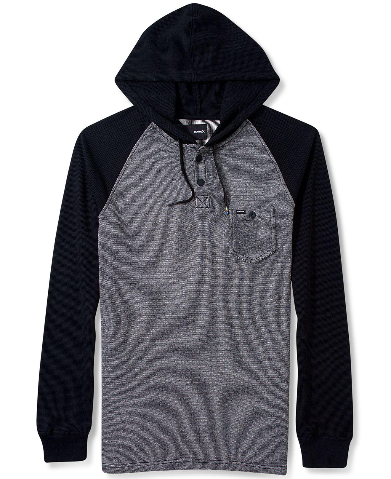 Hurley Hoodie Collab Pullover Thermal Hoodie T Shirts Men Macy S 49 50 Hurley Hoodie Thermal Hoodie Hoodies [ 1616 x 1320 Pixel ]