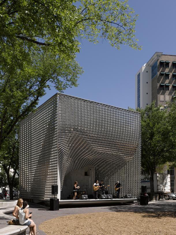 Markcareaga Theater Architecture Cubes Architecture Facade Architecture