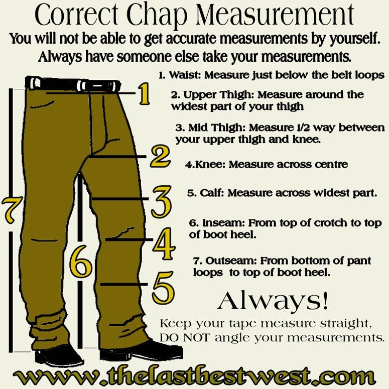 Image Detail for - Chaps that use buckles and straps will ...