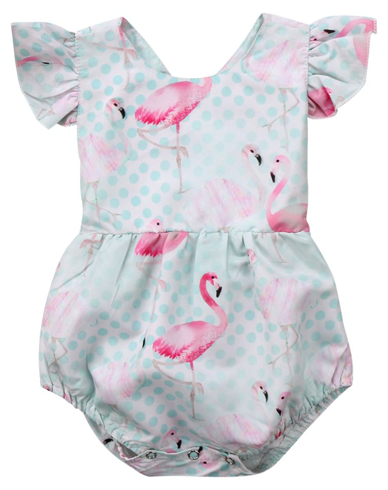 2e21819e6ba SALE 70% OFF + FREE SHIPPING! SHOP Our Flamingo Romper for Baby   Toddler  Girls