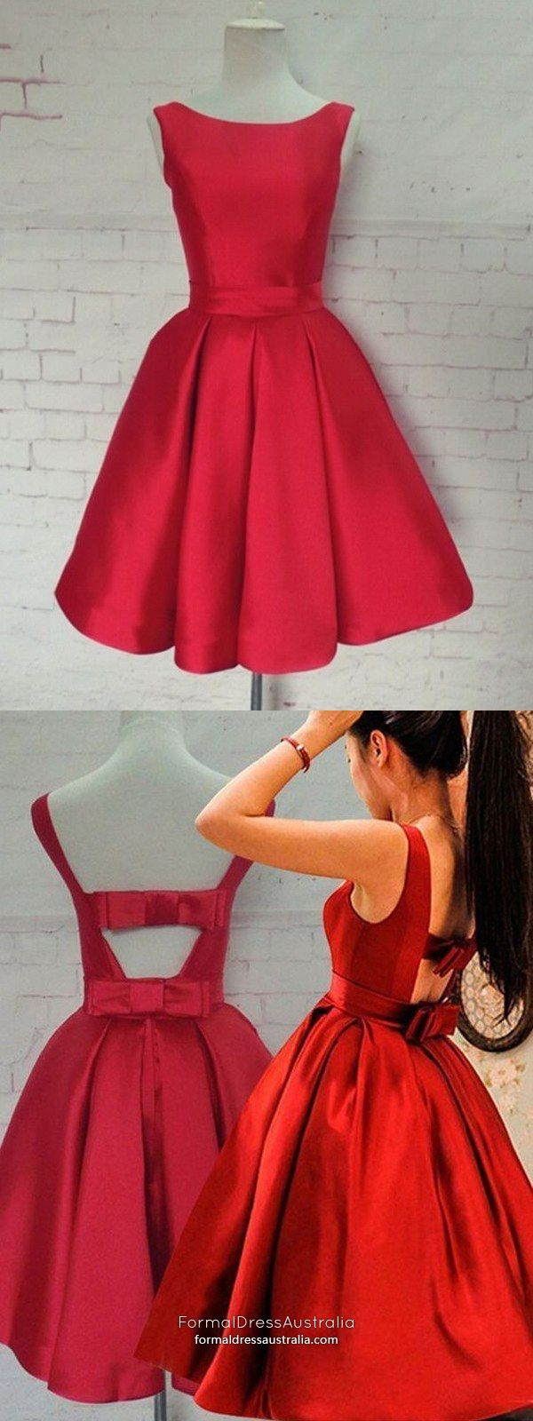 Elegant formal dresses short red prom dresses princess sexy party