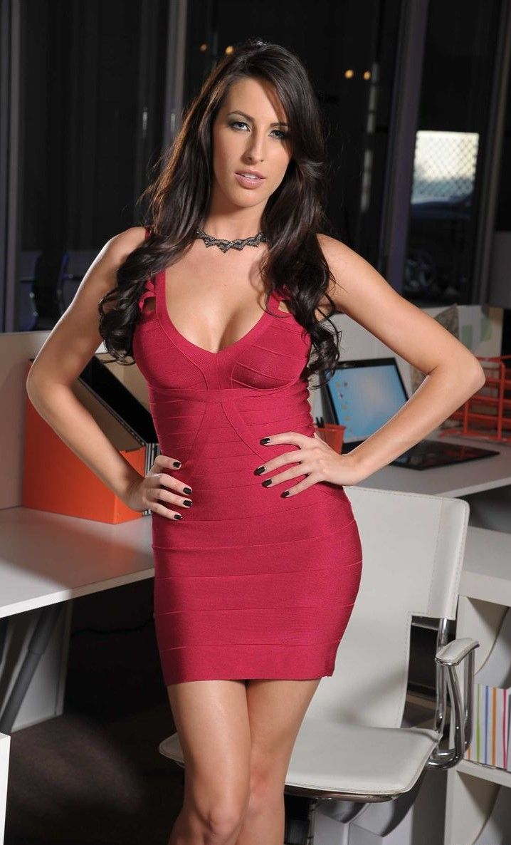 Kortney Kane in a tight dress