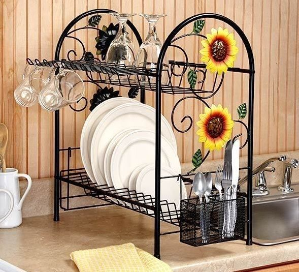 20+ Beautiful Dish Rack Ideas For Your Small Kitchen