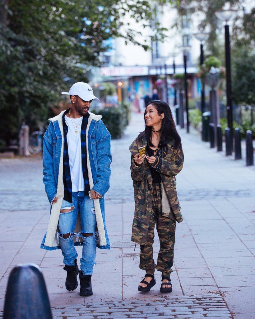 Pin By A On Loveeeeee Big Sean And Jhene Fashion Couple Outfits