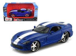 Maisto Dodeg Viper GTS BLUE DIE-CAST Hot Wheels CAR TOY model brand new
