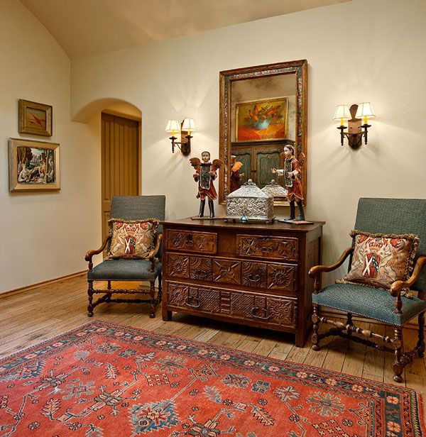 Rug Spanish Style Residence By Ann James Interiors