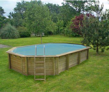 kit piscine hors sol bois octo 640 64x40 m prix promo leroy merlin 4x4wood - Piscine Bois Leroy Merlin Hors Sol