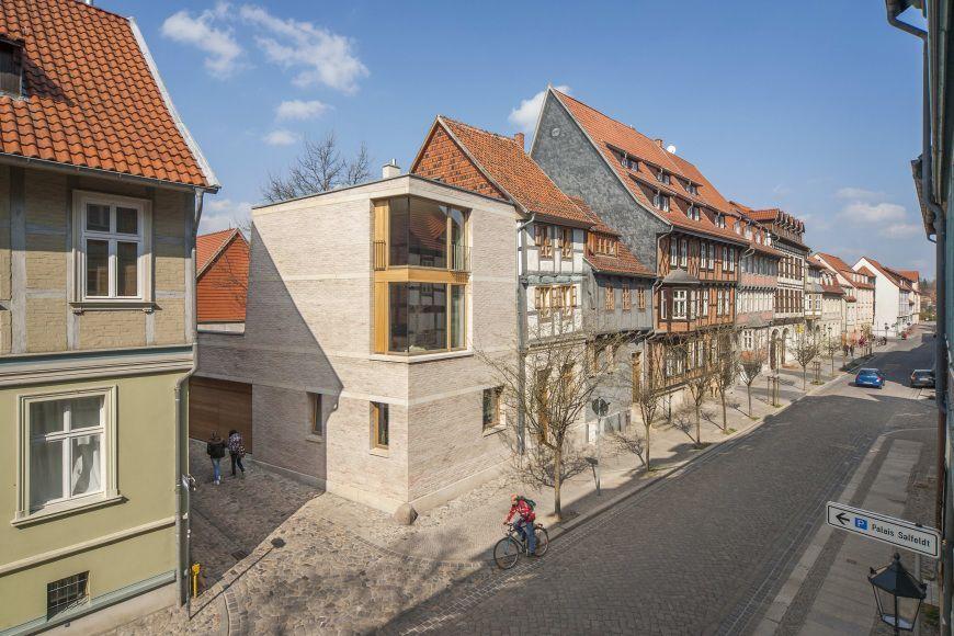 Eingliederung in das Straßenbild Wohnen im Unesco