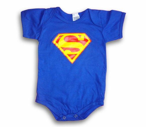 Por apenas R$19,90 a unidade de cada body!  Body Superman - algodão especial R$ 19,90  ou 4x de R$ 5,34 no cartão