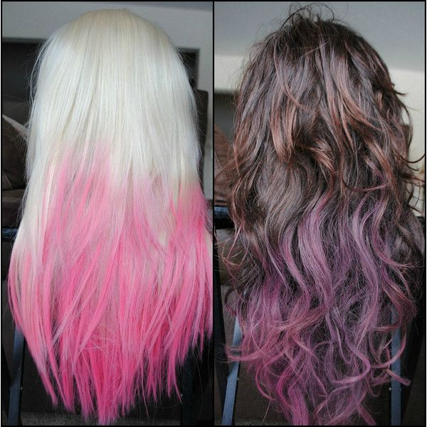Dip Dye Ombre And Streak Your Hair With Temporary Tint Hair - Hairstyle for color run