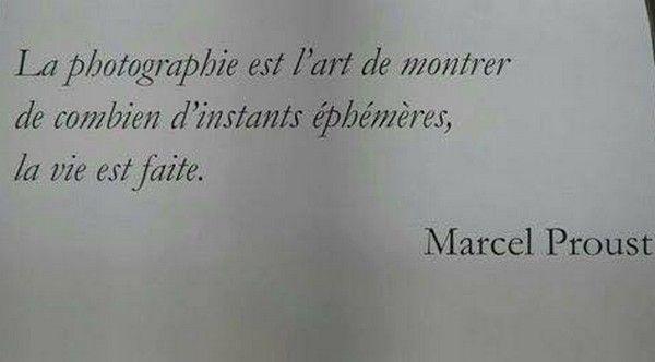Marcel Proust Citation Sur La Photographie Citation Et