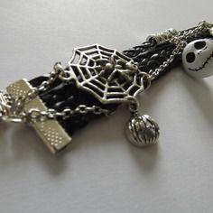 """Bracelet spécial halloween, """"tintement inquiétant"""""""