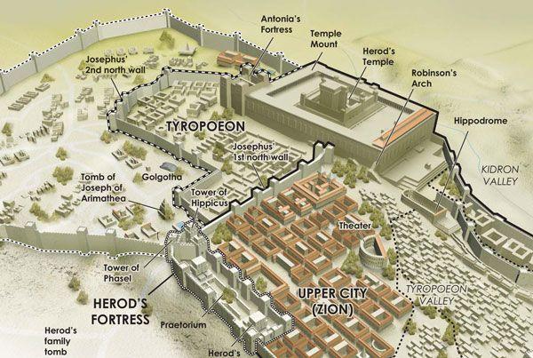 Ancient Jerusalem Infographic Israel And Jerusalem