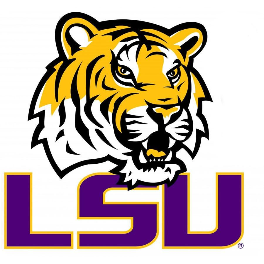 Ncaa Louisiana State Tigers College Logo Wallmarx Accent Lsu Tigers Logo Lsu Tigers Football Lsu Football