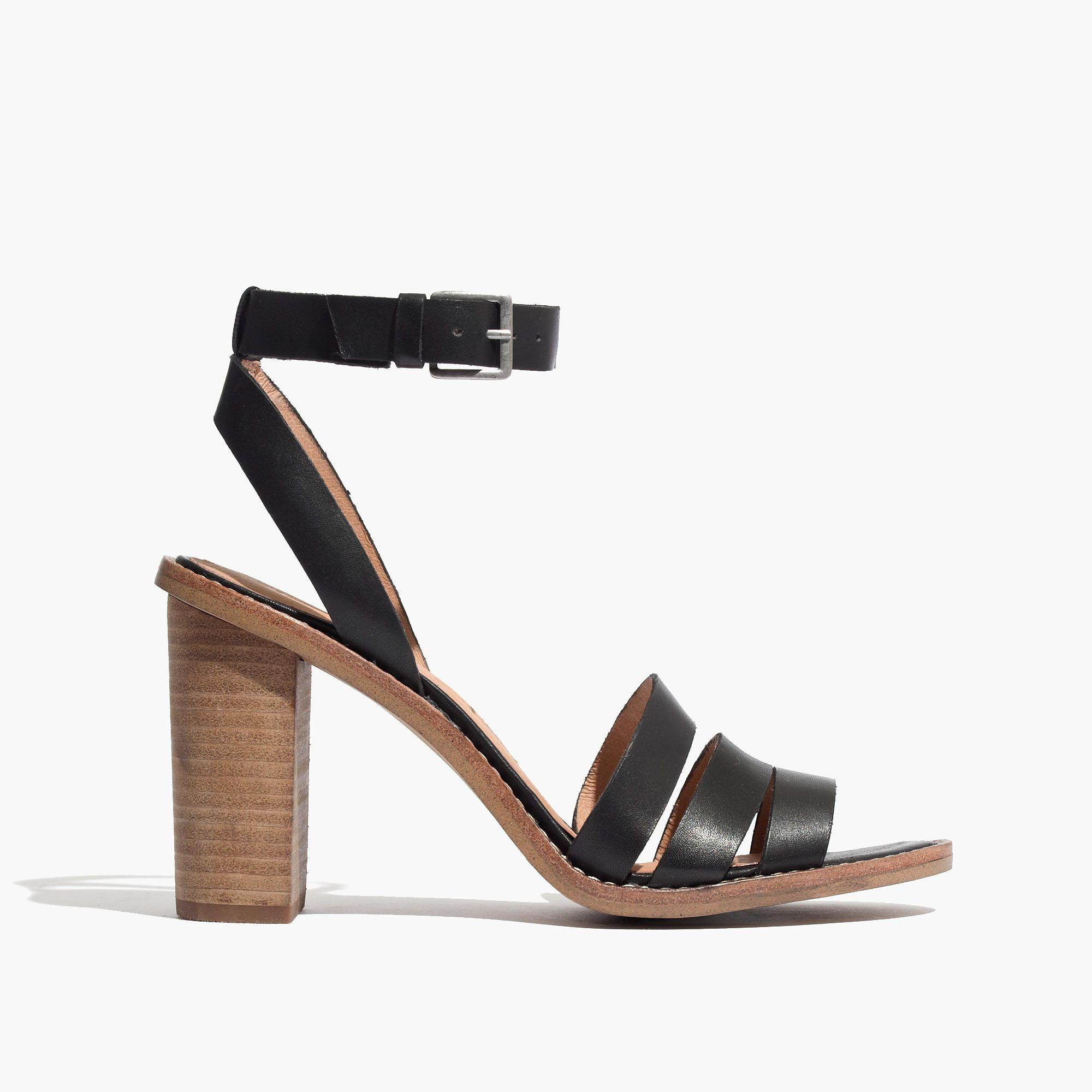 The Adler Strappy Sandal | Madewell