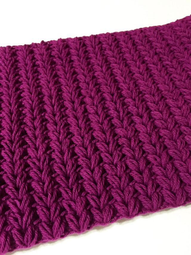 crochet pattern release: Faux Knit Puffy Cowl! (not your average ...
