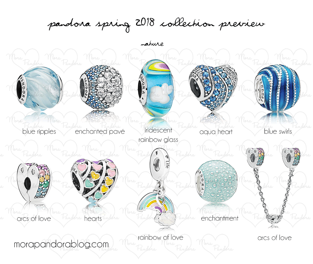 0c610f2dc Featuring some cheerful rainbow colours, aquatic blues and adorable  animals, Pandora's Spring 2018 collection moves away from the traditional  florals and ...