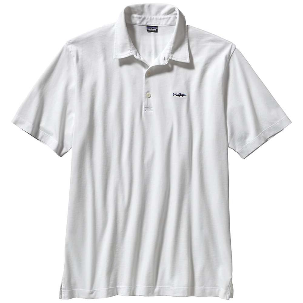 9f419d64b Patagonia Men's Trout Fitz Roy Polo | Products | Pinterest ...