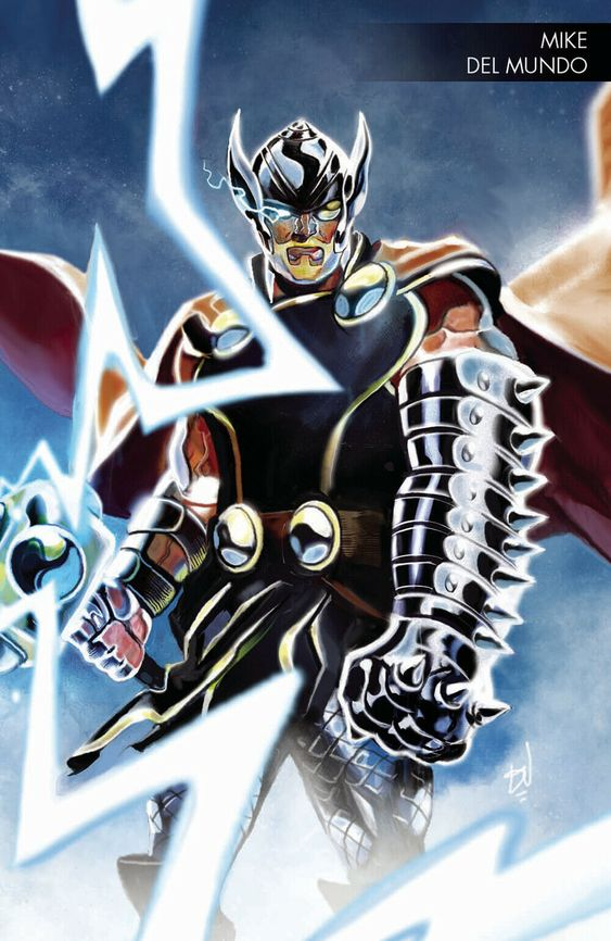 Thor Odinson Thor By Michael Del Mundo Portfolio Thor Odinson Thor Comic Art Marvel Comics Art Thor Comic