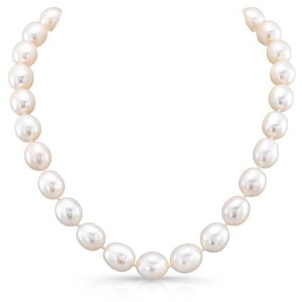 White Pearl Choker Necklace With Clasp ($439) ❤ liked on Polyvore featuring jewelry, necklaces, pearl choker necklace, graduation jewelry, clasp jewelry, pearl jewellery and pearl jewelry