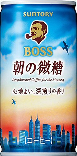 X30 This fine sugar 185g cans of Suntory Foods boss morning
